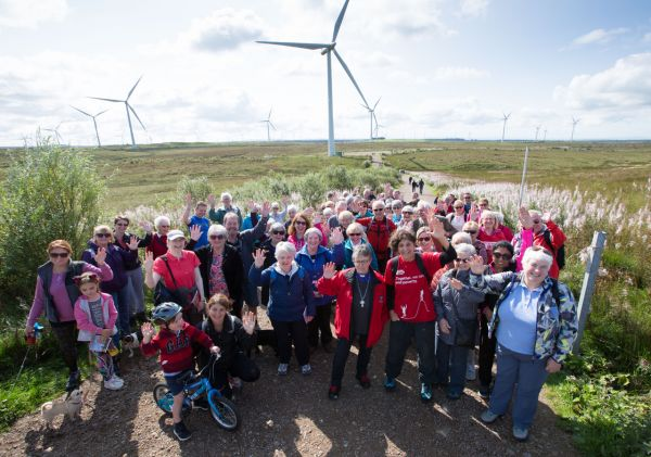 Whitelee Windfarm Christian Aid 10